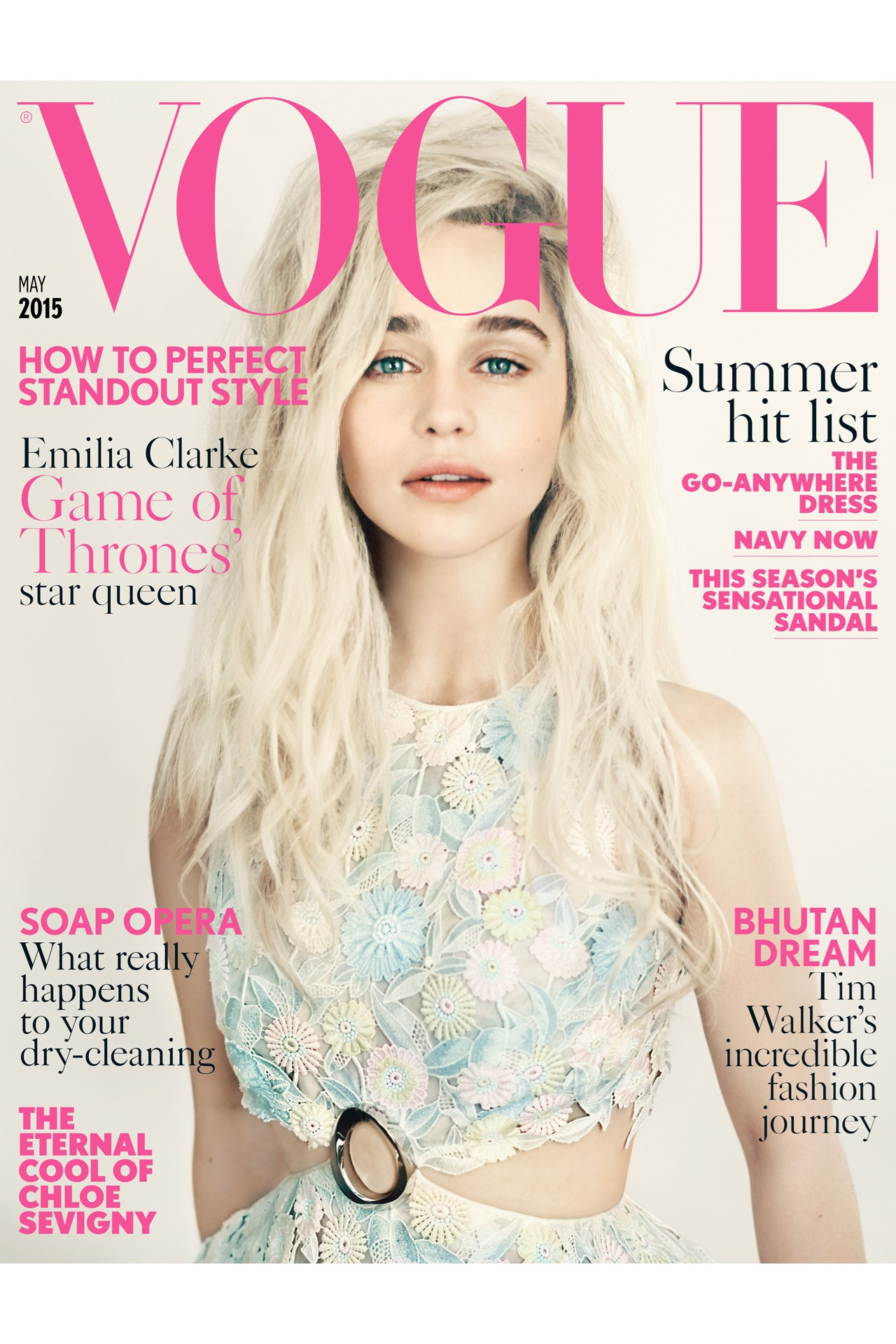 Vogue Magazine Uk May 2015 Issue: What's On: VOGUE 100