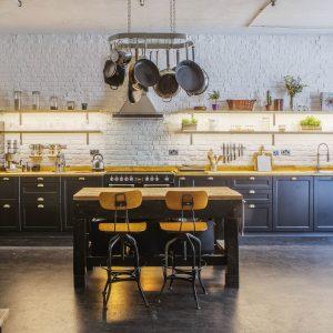 Kitchen set design for studio hire