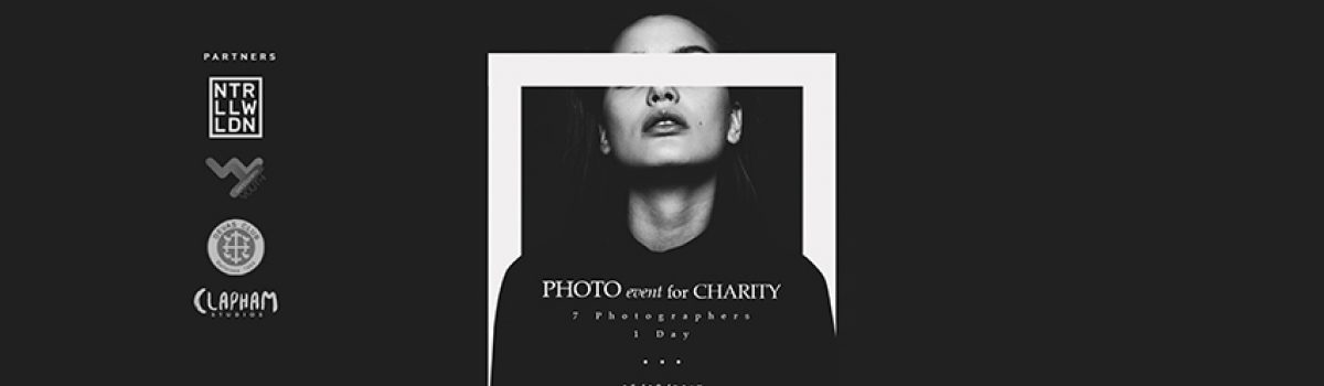 Clapham Studios Presents a charity event Portrait challenge for the Devas Youth Club